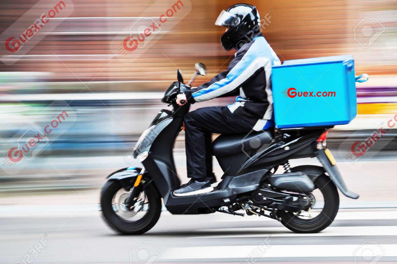 mensajero en moto bogotá